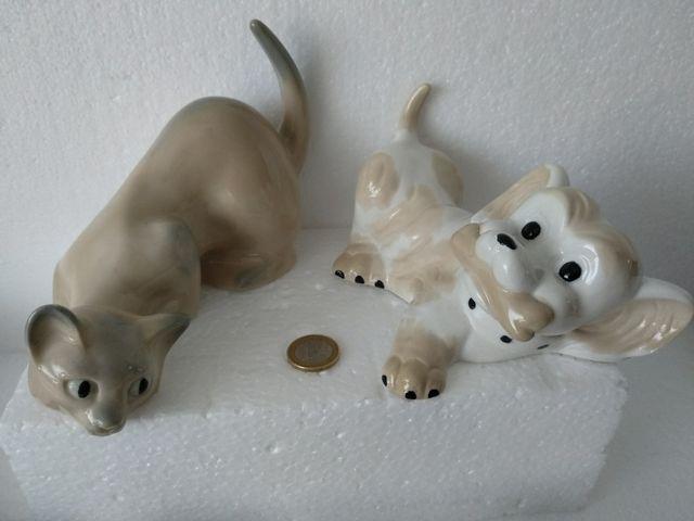 Antigua figura de gatito Zaphir Lladro ocasión