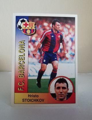 STOICHKOV #68 F. C. BARCELONA LIGA 94/95 NUEVO