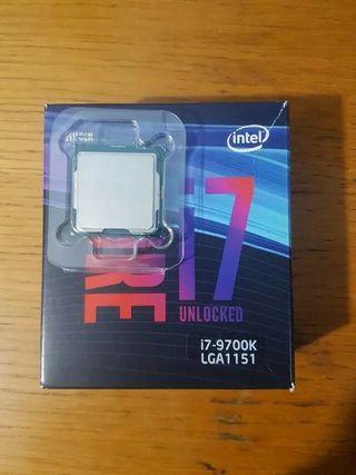 Intel - Core i7-9700K procesador 3,6 GHz 12 MB