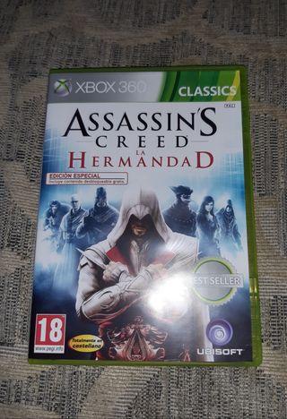 """ASSASSINS CREED: LA HERMANDAD"" PARA XBOX 360"