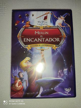 Merlín el encantador DVD Disney