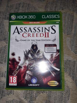 """""""ASSASSINS CREED 2"""" PARA XBOX 360"""