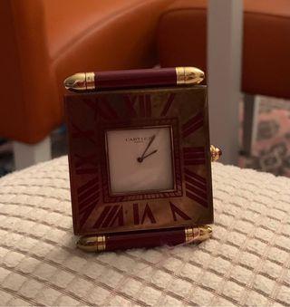 """Reloj vintage de viaje """"cartier"""""""