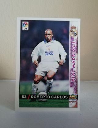 ROBERTO CARLOS #63 REAL MADRID LIGA 98/99
