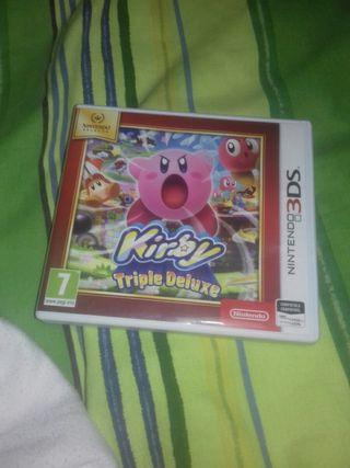 kirby compatible con todas las Nintendos menos 2ds