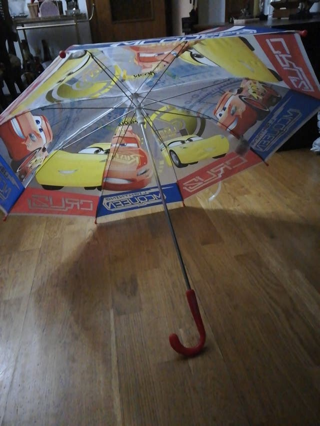 Paraguas Cars