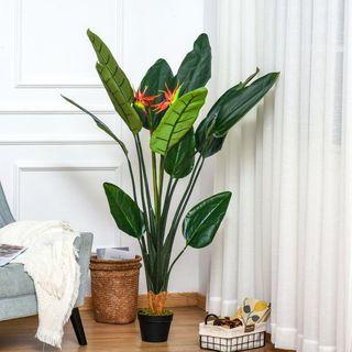 Planta Artificial Ave del Paraíso con Maceta Strel