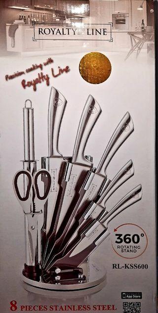 Set de cuchillos de acero inox. A ESTRENAR