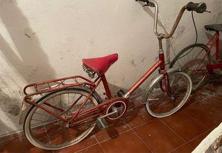 Bicicleta plegable para restaurar