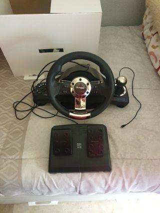 volante compatible con xbox one, ps4, ps3