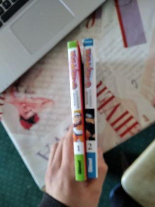 Naruto ,tomos 1 y 2