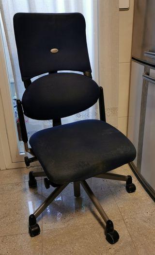Silla Steelcase please azul de despacho