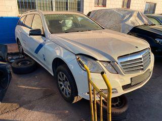 Despiece Mercedes Clase E W212 año 2011
