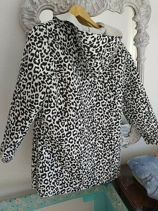 chaqueta leopardo sin usar