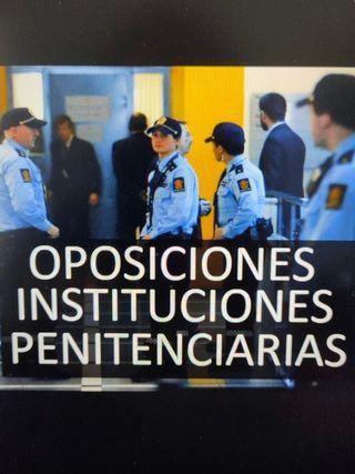 Temario oposición instituciones penitenciarias.