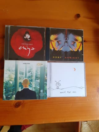 PACK CD'S MOBY&ENYA RELAX