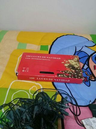 100 luces de navidad