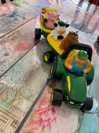 Tractor juguete niño