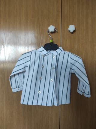 Camisa cruzada Gocco 3-6m
