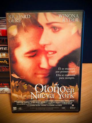 DVD PELÍCULA - OTOÑO EN NUEVA YORK