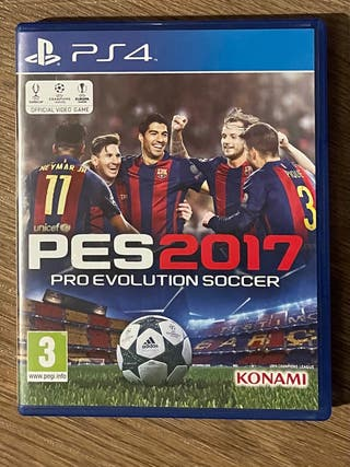 Juego PS4 Pro Evolution Soccer 2017
