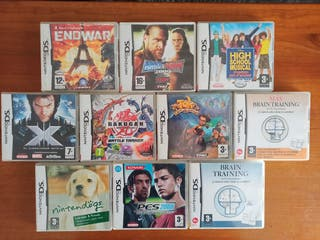 lote 10 juegos Nintendo DS/2DS/3DS