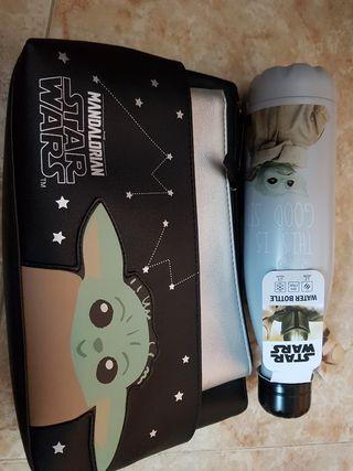 Neceser y botella Star Wars