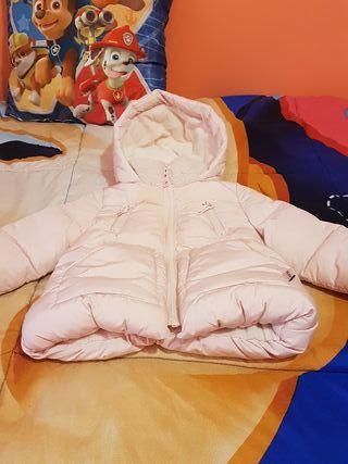 abrigo niña 6 a 9 meses zara