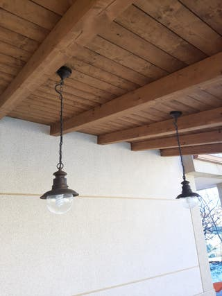 lamparas de exterior para porche