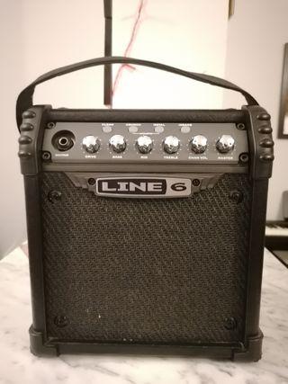 Amplificador guitarra portátil Line 6 batería