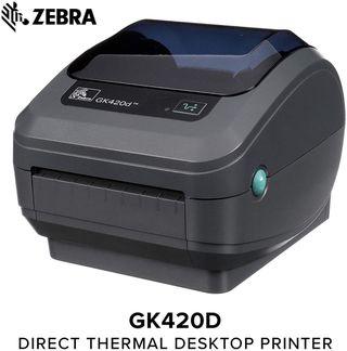 Impresora Zebra GK420d