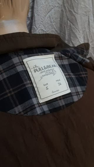 Chaqueta Pull&Bear simil Barbour