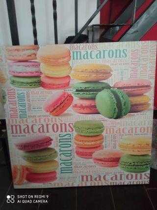 cuadro macarons