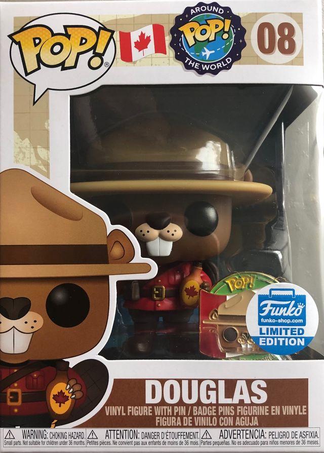 Funko Pop Exclusive Douglas Around the World