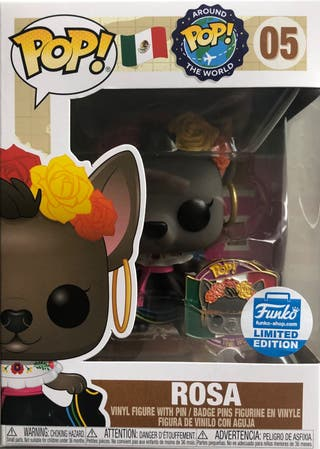 Funko Pop Exclusive Rosa Around the World