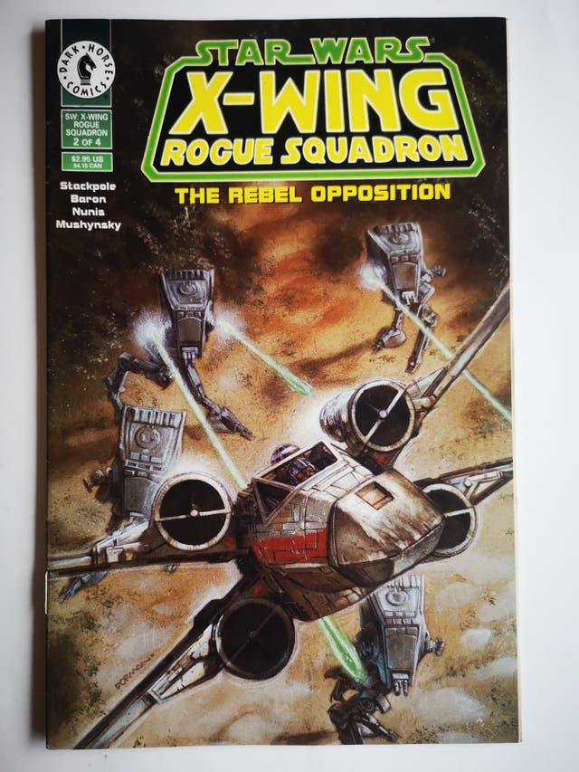 STAR WARS - X Wing Rogue Squadron - The Rebel ...