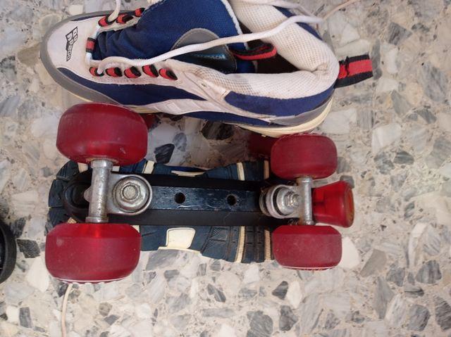 Patines 4 ruedas - Decathlon Roller