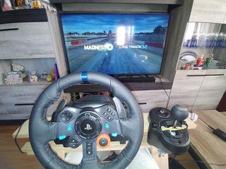 PS4 Slim 1t + volante/pedalera/shifter g29