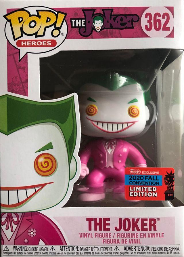 Funko Pop Exclusive NYCC Joker Pink Cancer Breast