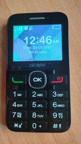 Alcatel para personas mayores, 2 baterías
