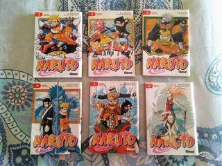Libros Naruto del 1 al 6.Todos x 28,50€. A 4,75€ u