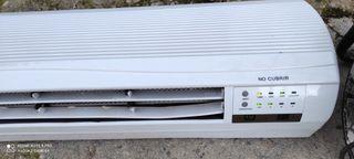 calefactor de pared portátil