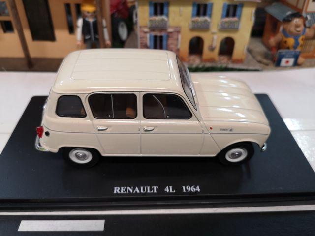 MAQUETA RENAULT 4L 1964