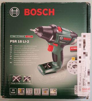 Atornillador-taladro Bosch sin cable