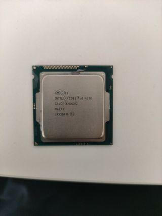 Procesador / CPU Intel i7 4790