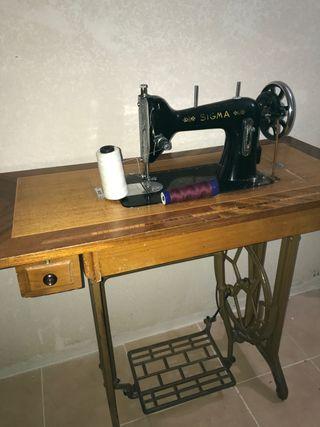 Máquina antigua de de coser
