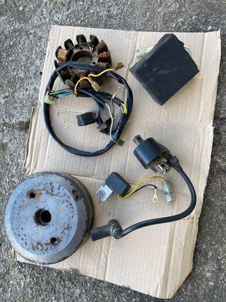 Encendido y completo gas gas txt pro