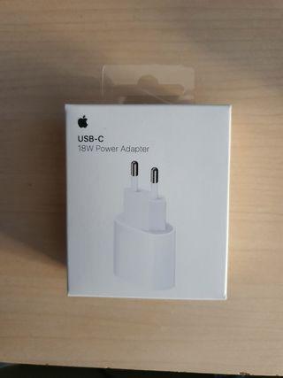 Adaptador Carga Rápida Apple 18W