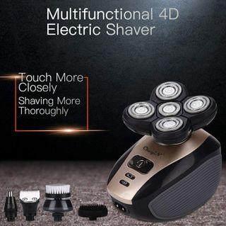 Máquina de afeitar multifunción 5 en 1 recargable