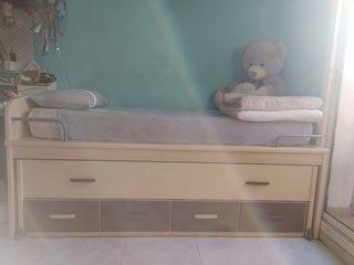 cama nido + cajones